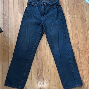 Astradivarius mom style jeans